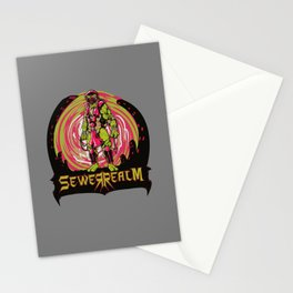 Sewer Realm (Red) Stationery Cards