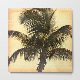 Palm On Film Metal Print