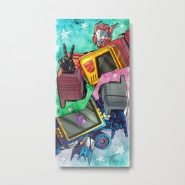 Blaster / Soundwave! Metal Print