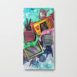 Blaster / Soundwave! Metal Print