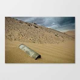 Lost Coors Can Canvas Print