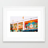 ohio state Framed Art Prints featuring Ohio State Fair by La Fin Du Globe