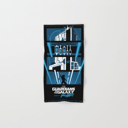 Guardians of the Galaxy - Mission: BREAKOUT! Poster Hand & Bath Towel