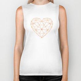 COPPER HEART Biker Tank