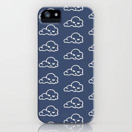 clouds pattern iPhone Case
