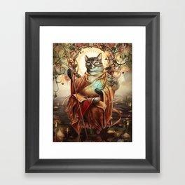 Jizo Bodhissatva Framed Art Print