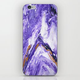 Chevron Amethyst 1 iPhone Skin
