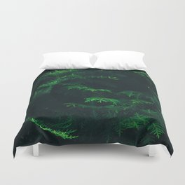 Green pine Duvet Cover