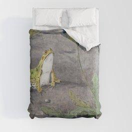 Frog by a Dandelion with Flies (1877-1938) by Jan van Oort Comforters