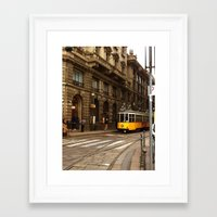 milan Framed Art Prints featuring Milan by Fotografie di Gianluca Testa