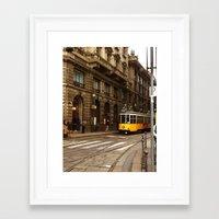 milan Framed Art Prints featuring Milan by GialloPhoto