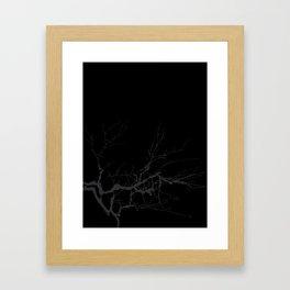 Just a branch Framed Art Print