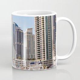 Dubaï, The Marina World Coffee Mug