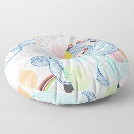 The Siren Floor Pillow