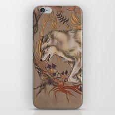 mortem autem lupus iPhone & iPod Skin