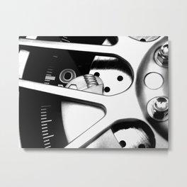 Tick Vroom Tock Metal Print