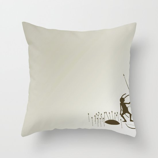 BREATH 숨 Throw Pillow