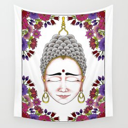 MauindiArts Contemplation Print Wall Tapestry