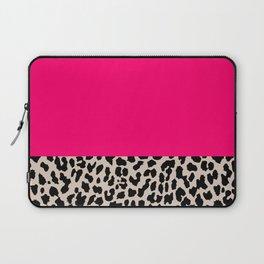 Minimal Leopard Laptop Sleeve
