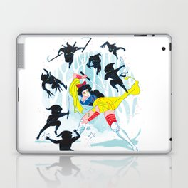 Tales of a Snow Geisha Laptop & iPad Skin