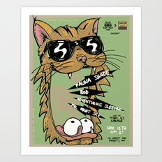 Blind Blind Tiger Art Print