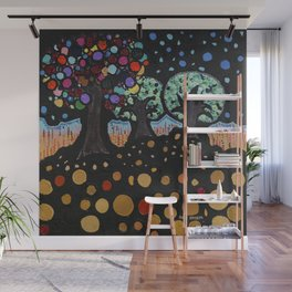 :: Night Forest :: Wall Mural