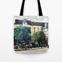 Cracow art 2 Wawel #cracow #krakow #city Tote Bag