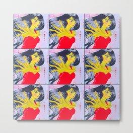 Emiko Slays Metal Print