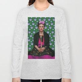 Flowers Frida Kahlo I Long Sleeve T-shirt