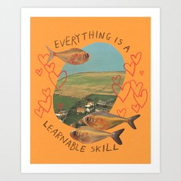 learnable skill Art Print