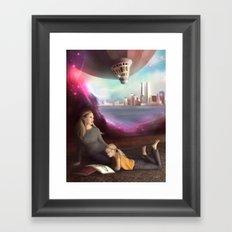 Wherever You Want to Go Framed Art Print