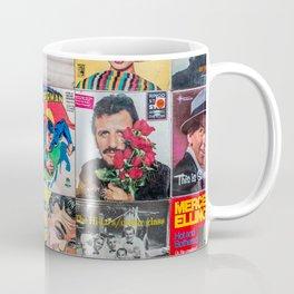Old Records Coffee Mug