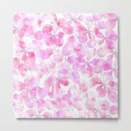 Watercolor Floral VVIII Metal Print