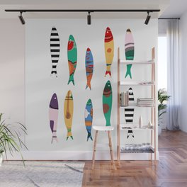 Summer Cookout Sardines #Homedecor Wall Mural
