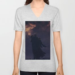 Under the Galaxies Unisex V-Neck