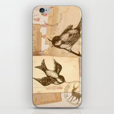 Bird Collage  iPhone & iPod Skin