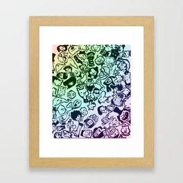 animooter Framed Art Print