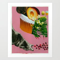 Gulp Art Print