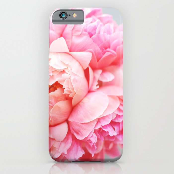 Peonies Forever iPhone Case