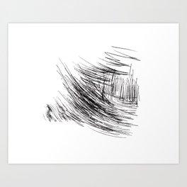Circles°6 Art Print