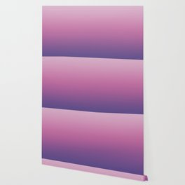 Pink Ultra Violet Ombre Gradient Pattern Wallpaper