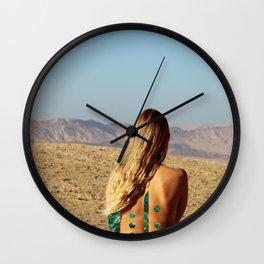 Desert #2 Wall Clock