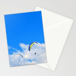 """""""Parasailing #13"""" with poem: Friends and Birthdays Stationery Cards"""