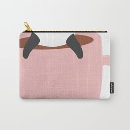 Cute-Coffee-Panda Carry-All Pouch