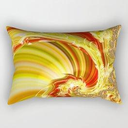 Dragon Trail Rectangular Pillow