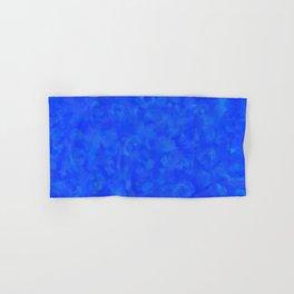 Cobalt Blue Cloud Texture Hand & Bath Towel
