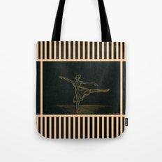 The ballerina Tote Bag