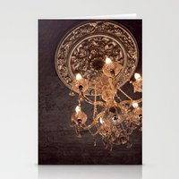 chandelier Stationery Cards featuring chandelier by shannonblue