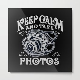 Photographer Photographer Gift Analog Photography Metal Print