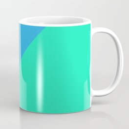 Minimalism Blue Coffee Mug